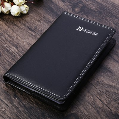 Classical PU Leather Office Notebook