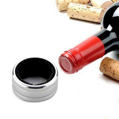 Stainless Steel Wine Ring Multi-functional Liquid Pour Stopper Collar