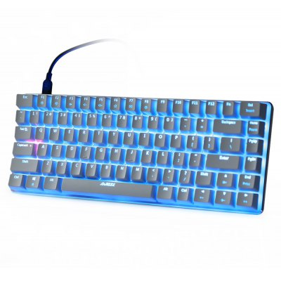 Ajazz AK33 Mechaincal Gaming Keyboard Blue Switch