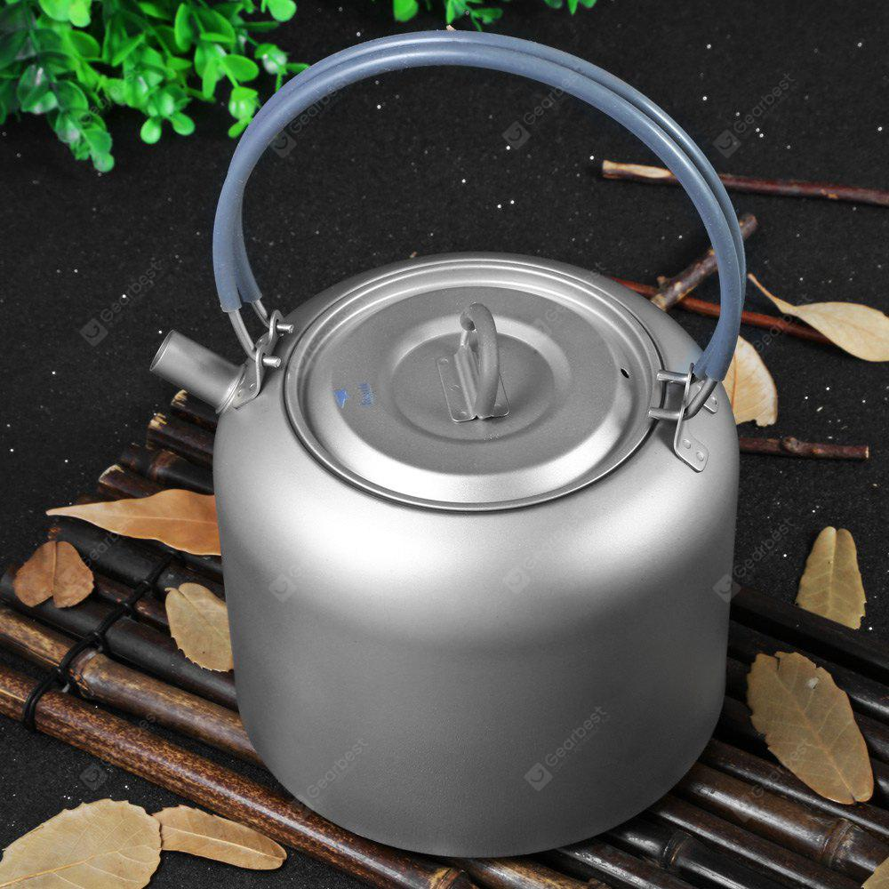Keith Ti3907 1.5L Titanium Camping Tea Kettle