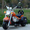 Safe Kid 6V Motorcycle 3 Wheel Max. 3 Km/h Electric Powered Music Light Autocycle Birthday Gift photo