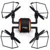 GTeng T901F 5.8GHz FPV 2.0MP 2.4GHz 4 Channel 6 Axis Gyro Quadcopter One Key Automatic Return - BLACK