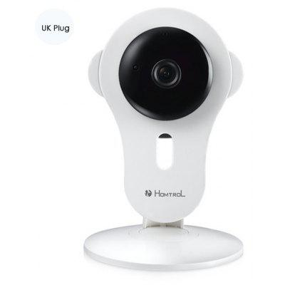 Buy WHITE Homtrol HT-SC200 Home WiFi Cube IP Camera 60 Degrees FOV 720P for $39.48 in GearBest store