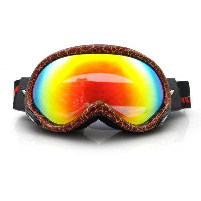 EddieFox HE - 515 Electroplating Anti-fog UV Protection Sport Sunglasses Skiing Goggles