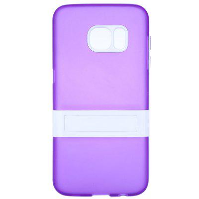PC TPU Back Cover Case with Stand for Samsung S7 Anti-scratch