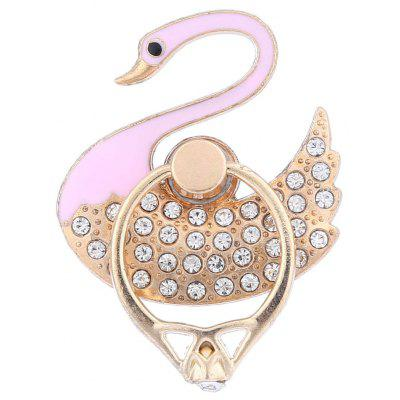 Adjustable Ring Style Phone Stand for Mobile Phone Swan Style