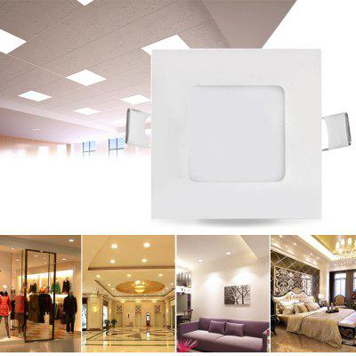 18W 90 x SMD 2835 1300Lm Square LED Ceiling Panel Light