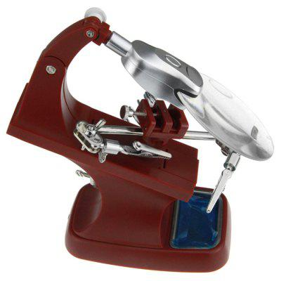 7023A Desktop 360 Degree Rotation Magnifier