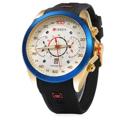 Curren 8166 Male Quartz Watch