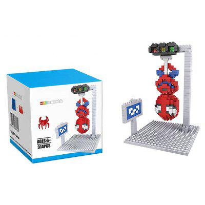Super Hero Micro Diamond Building Block - 314Pcs Educational Kid Toy