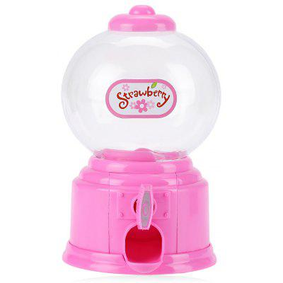 Funny Mini Candy Gumball Dispenser Toy Kids Vending Machine