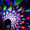LT - Mini 5W DJ Disco Magic Ball RGB LED Stage Light - BLACK