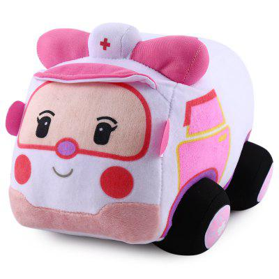 6.6 inch Car Design Cute Plush Doll Cartoon Stuffed Toy Birthday Present