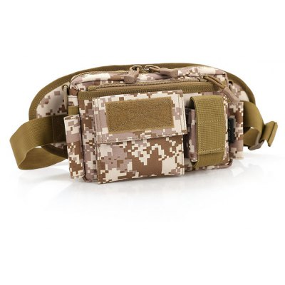 3L Multipurpose Tactical Waist Bag for Outdoor Camping Hiking
