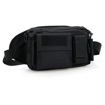 3L Multipurpose Tactical Waist Bag for Outdoor Camping HikingWaistpacks<br>3L Multipurpose Tactical Waist Bag for Outdoor Camping Hiking<br><br>Capacity: 1 - 10L<br>Features: Tactical Style<br>For: Cycling, Hiking, Mountaineering, Travel<br>Material: Nylon<br>Package Contents: 1 x Waist Bag, 1 x Belt, 1 x Waist Bag, 1 x Belt<br>Package size (L x W x H): 30.00 x 30.00 x 10.00 cm / 11.81 x 11.81 x 3.94 inches<br>Package weight: 0.420 kg<br>Product weight: 0.380 kg