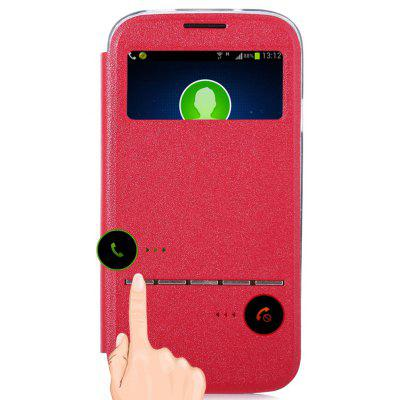 Matte Leather Protective Skin for Samsung Galaxy S4