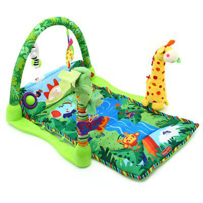 Baby Rainforest Music Game Blanket with Fitness Rack окуляр levenhuk левенгук plössl 25 мм 1 25