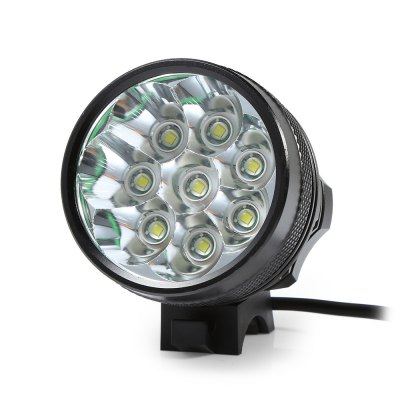 Marsing 8.4V 3 Modes 8 LED Cree XML T6 Bicycle LightHeadlights<br>Marsing 8.4V 3 Modes 8 LED Cree XML T6 Bicycle Light<br><br>Color: Black<br>Features: Superbright, Easy to Install<br>LED Quantity: 8<br>Luminance: 2200 - 2400 lumens<br>Material: Aluminum Alloy<br>Package Contents: 1 x Bicycle Lamp Head, 1 x Battery Set, 1 x Battery Pouch, 2 x Lamp Belt, 2 x O-ring, 1 x Charger Adapter<br>Package Dimension: 20.00 x 18.00 x 6.00 cm / 7.87 x 7.09 x 2.36 inches<br>Package weight: 0.6000 kg<br>Placement: Handlebar<br>Product Dimension: 5.60 x 5.50 x 5.50 cm / 2.2 x 2.17 x 2.17 inches<br>Product weight: 0.4700 kg<br>Suitable for: Cross-Country Cycling, Fixed Gear Bicycle, Mountain Bicycle, Road Bike, Touring Bicycle<br>Type: Front Light<br>Working Time: 4 - 5 hours