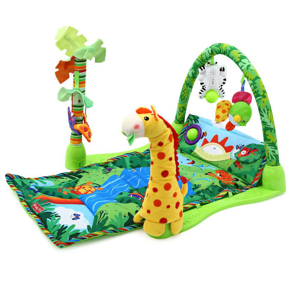 Baby Rainforest Music Game Blanket with Fitness Rack