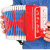 Musical Instrument Accordion - RED