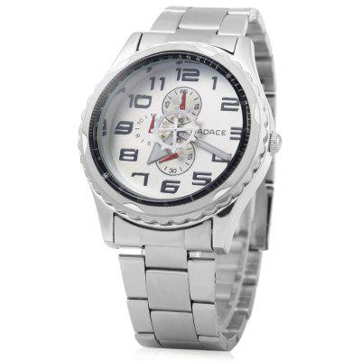 Badace 1067 Men Quartz Watch with Stainless Steel Band