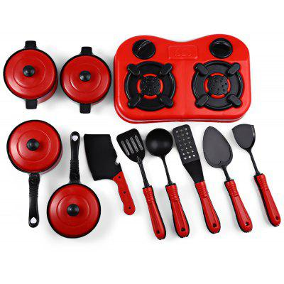 11pcs Simulation Kitchen Utensils Toy