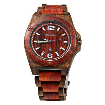 Bewell 082 Sandalwood Dial Lightweight Male Japan Quartz WatchMens Watches<br>Bewell 082 Sandalwood Dial Lightweight Male Japan Quartz Watch<br><br>Band material: Sandalwood<br>Band size: 23.5 x 2.1 cm / 9.25 x  0.83 inches<br>Brand: Bewell<br>Case material: Sandalwood<br>Clasp type: Folding clasp with safety<br>Dial size: 4.5 x 4.5 x 1.3 cm / 1.77 x 1.77 x 0.51 inches<br>Display type: Analog<br>Movement type: Quartz watch<br>Package Contents: 1 x Male Watch<br>Package size (L x W x H): 24.50 x 5.80 x 2.30 cm / 9.65 x 2.28 x 0.91 inches<br>Package weight: 0.080 kg<br>Product size (L x W x H): 23.50 x 4.80 x 1.30 cm / 9.25 x 1.89 x 0.51 inches<br>Product weight: 0.060 kg<br>Shape of the dial: Round<br>Watch color: Claret<br>Watch style: Fashion<br>Watches categories: Male table<br>Wearable length: 23.5 cm / 9.25 inches