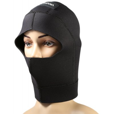 AKUANA 3mm Wetsuits Premium Neoprene Hood for Diving