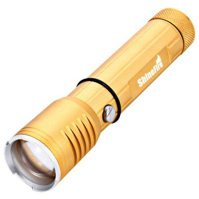 ShineFire 5W 360Lm Zoomable Yellow Flashlight