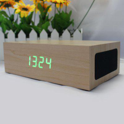 C75 Wood Multifunction Bluetooth 3.0 Stereo Speaker