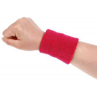 Buy RED 1PCS Aolikes Sports Absorbing Sweet Wristbands for $1.18 in GearBest store