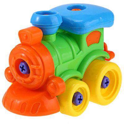 Buy COLORMIX Kids Disassembly Assembly Animal Model Car Toy for $2.60 in GearBest store