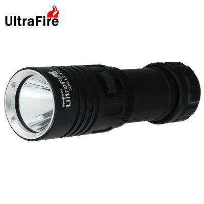 Ultrafire Cree T6 900Lm Compact LED FlashlightLED Flashlights<br>Ultrafire Cree T6 900Lm Compact LED Flashlight<br><br>Available Light Color: White<br>Battery Included or Not: No<br>Battery Quantity: 1 x 18650 / 26650 battery (not included)<br>Battery Type: 18650<br>Beam Distance: 100-200m<br>Body Material: AL 6061-T6 Aluminium Alloy<br>Brand: Ultrafire<br>Color Temperature: 5000-6500K<br>Emitters: Cree XM-L2 T6<br>Emitters Quantity: 1<br>Feature: Water Resistant, Portable, Lightweight, Lanyard, Cooling Slot of High Efficiency, Adjustable brightness<br>Flashlight size: Mid size<br>Flashlight Type: Handheld,Tactical<br>Function: Walking, Night Riding, Camping, EDC, Hiking, Household Use<br>Lens: Glass Lens<br>Light color: White light<br>Light Modes: High,Low,Mid<br>Lumens Range: 500-1000Lumens<br>Luminous Flux: 900LM<br>Max.: 2-4h<br>Mode: 3 (Low - Mid - High)<br>Package Contents: 1 x Ultrafire LED Flashlight, 1 x Lanyard<br>Package size (L x W x H): 15.00 x 7.00 x 7.00 cm / 5.91 x 2.76 x 2.76 inches<br>Package weight: 0.2200 kg<br>Power Source: Battery<br>Product size (L x W x H): 12.90 x 3.50 x 3.50 cm / 5.08 x 1.38 x 1.38 inches<br>Product weight: 0.1520 kg<br>Reflector: Aluminum Smooth Reflector<br>Waterproof Standard: IPX-6 Standard Waterproof