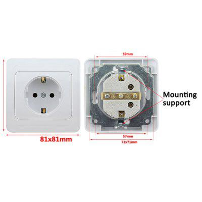 European Standard Outlets Wall Socket