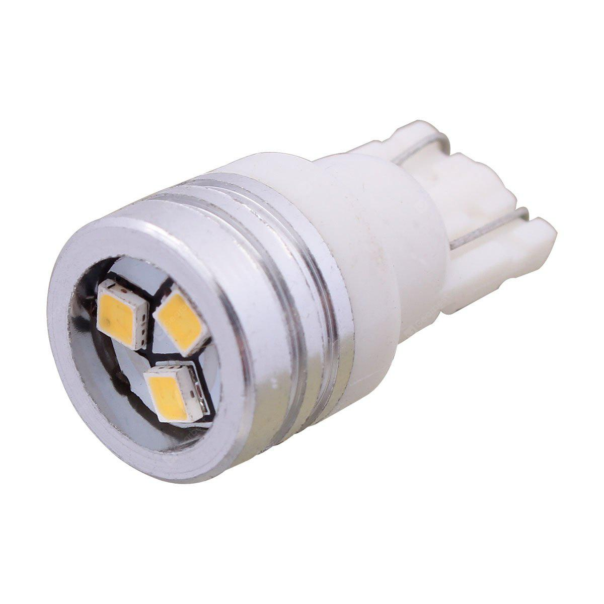 WHITE 2PCS 1Pair 3 SMD LED 12V 1W 6000K 150LM Car Parking Light