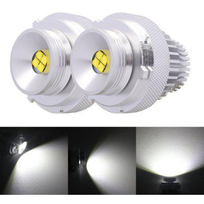 2PCS E39 Metal LED 12 - 24V 32W 6500K 1400lm Car Headlight