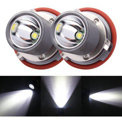 2PCS E39 Metal LED 12 - 24V 10W 6500K 1200lm Car Headlight