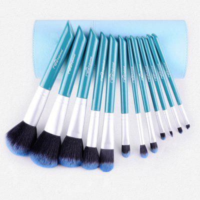 12PCS Synthetic Hair Makeup Brushes