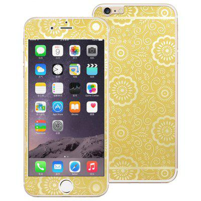 Angibabe Tempered Glass Screen Film Back Protector for iPhone 6 Plus / 6S Plus
