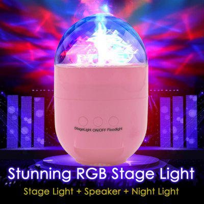 Lolong T5 RGB LED Stage Light Speaker Night Light