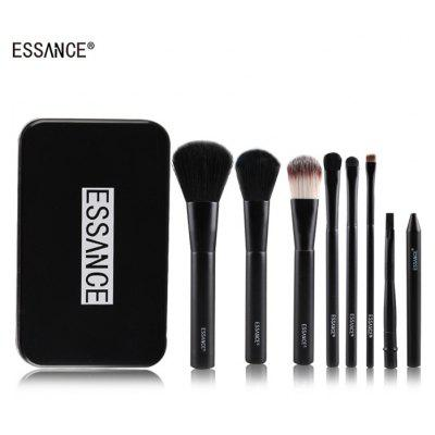 ESSAIVCE 7PCS Makeup Brushes Soft Nylon Hair Cosmetics Accessory Set