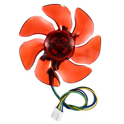 Computer CPU Plastic Cooling Fan Leaves Card Blower Heat Sink