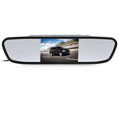 4.3 inch TFT LCD Monitor Mirror Reverse Car Camera
