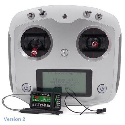 Flysky FS - i6S 2.4G 6CH OSD Transmitter + FS - iA6B Receiver RC Multicopter Accessory