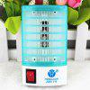 2 in 1 Mosquito Killer Lamp LED Night Light with LOGO - BLUE AND WHITE