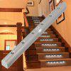 PIR LED Stairs Light Battery Operated Indoor Stairway Cabinet Lighting - WHITE LIGHT