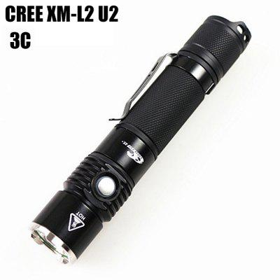 Eagle Eye X5R Cree XM - L2 U2 3C 1000Lm Rechargeable LED Running Flashlight