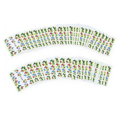 50pcs Colorful Stylish Art Sticker Tips Decoration Manicure Nail Paste