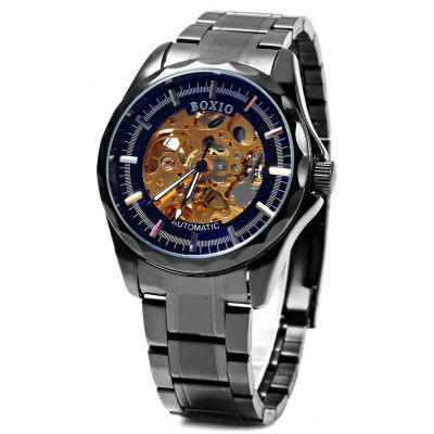 Boxio B9448 Hollow-out Dial Male Automatic Mechanical Watch