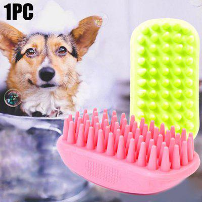 Rubber Pet Massage Brush Cat Dog Massager Comb